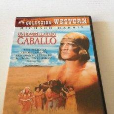 Cine: DVD UN HOMBRE LLAMADO CABALLO CON RICHARD HARRIS. Lote 192014386