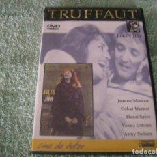 Cine: JULES Y JIM / UNA PELICULA DE F.TRUFFAUT. Lote 192014542