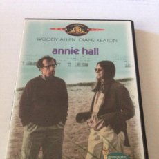 Cine: DVD ANNIE HALL DE WOODY ALLEN CON DIANE KEATON. Lote 192014700