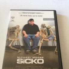 Cine: DVD SICKO DE MICHAEL MOORE. Lote 192014793