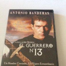 Cine: DVD EL GUERRERO Nº 13 DE JOHN MCTIERNAN CON ANTONIO BANDERAS. Lote 192014846