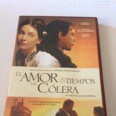 Cine: DVD EL AMOR EN LOS TIEMPOS DEL COLERA DE MIKE NEWELL CON JAVIER BARDEM. Lote 192014908