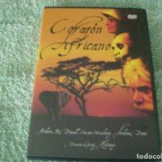 Cine: CORAZON AFRICANO / DVD. Lote 192014971