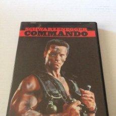 Cine: DVD COMMANDO DE MARK LESTER CON ARNOLD SCHWARZENEGGER, RAE DAWN CHONG, DAN HEDAYA . Lote 192015251
