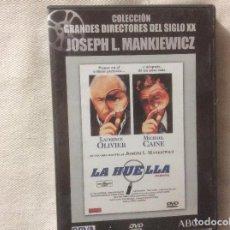 Cine: LA HUELLA - MICHAEL CAINE - LAURENCE OLIVIER - DE JOSEPH L. MARKIEWICZ - DVD. Lote 192015391