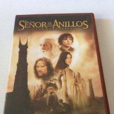 Cine: DVD EDICION ESPECIAL 2 DISCOS EL SEÑOR DE LOS ANILLOS LAS DOS TORRES DE PETER JACKSON. Lote 192015496