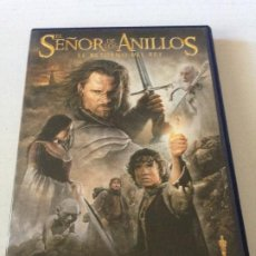 Cine: DVD EDICION ESPECIAL 2 DISCOS EL SEÑOR DE LOS ANILLOS EL RETORNO DEL REY DE PETER JACKSON. Lote 192015572