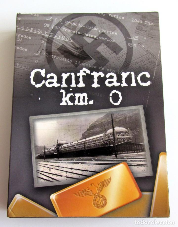 CANFRANC KM 0- 4 DVD ARAGON-ORO NAZI WOLFRAMIO ADUANA JUDIOS RESISTENCIA-SEGUNDA GUERRA MUNDIAL (Cine - Películas - DVD)