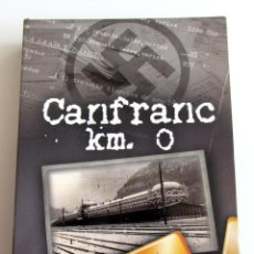 Cine: CANFRANC KM 0- 4 DVD ARAGON-ORO NAZI WOLFRAMIO ADUANA JUDIOS RESISTENCIA-SEGUNDA GUERRA MUNDIAL. Lote 192052667