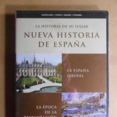 Cine: DVD - NUEVA HISTORIA DE ESPAÑA 9 - LA ESPAÑA LIBERAL/LA RESTAURACION - 2002 ** PRECINTADO. Lote 192125210