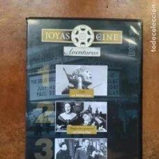 Cine: JOYAS DEL CINE. AVENTURAS. DVD 2. 3 TITULOS. Lote 192125226