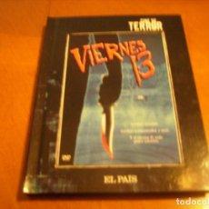 Cine: VIERNES 13 / DVD + LIBRO EL PAIS / FORMIDABLE FORMATO DVD. Lote 192125387