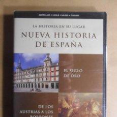 Cine: DVD - NUEVA HISTORIA DE ESPAÑA 7 - EL SIGLO DE ORO/LOS AUSTRIA A LOS BORBONES - 2002 ** PRECINTADO. Lote 192125393