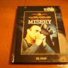 Cine: MISERY / DVD + LIBRO EL PAIS / FORMIDABLE FORMATO DVD. Lote 192125447