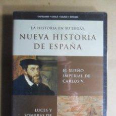 Cine: DVD - NUEVA HISTORIA DE ESPAÑA 6 - CARLOS V/FELIPE II - 2002 ** PRECINTADO. Lote 192125582