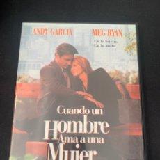Cine: (S331) CUANDO UN HOMBRE AMA A UNA MUJER ( DVD SEGUNDA MANO ). Lote 192125732