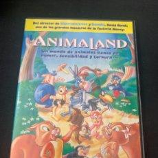 Cine: (S331) ANIMALAND ( DVD SEGUNDA MANO ). Lote 192125985