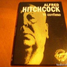 Cine: ALFRED HITCHCOCK / YO CONFIESO / DVD + LIBRO / . Lote 192126070