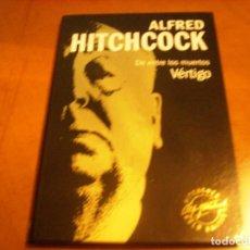 Cine: ALFRED HITCHCOCK / VERTIGO / DVD + LIBRO / . Lote 192126276