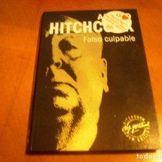 Cine: ALFRED HITCHCOCK / FALSO CULPABLE / DVD + LIBRO / . Lote 192126430