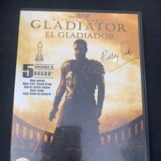 Cine: (S331) GLADIATOR ( DVD SEGUNDA MANO ). Lote 192126476