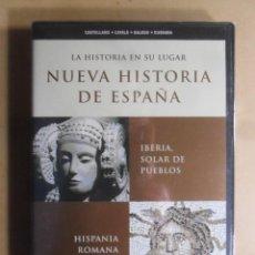 Cine: DVD - NUEVA HISTORIA DE ESPAÑA 1 - IBERIA, SOLAR DE PUEBLOS/HISPANIA ROMANA - 2002 ** PRECINTADO. Lote 192126515