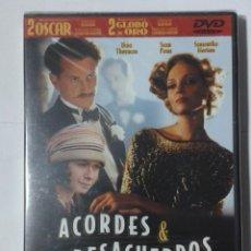Cine: ACORDES & DESACUERDOS- WOODY ALLEN- DVD NUEVO. Lote 192285901