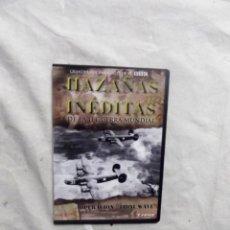 Cine: DVD - HAZAÑAS INEDITAS DE LA II GUERRA MUNDIAL - OPERACION TIDAL WAVE CREST FILMS ( CAJA FINA ). Lote 192378535