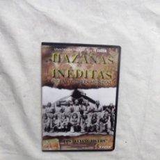 Cine: DVD - HAZAÑAS INEDITAS DE LA II GUERRA MUNDIAL - LOS FLYING TIGERS CREST FILMS ( CAJA FINA ). Lote 192381217