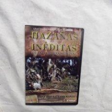 Cine: DVD - HAZAÑAS INEDITAS DE LA II GUERRA MUNDIAL - INVASION EN BIRMANIA CREST FILMS ( CAJA FINA ). Lote 192381245