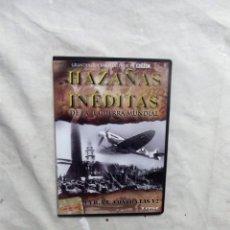 Cine: DVD - HAZAÑAS INEDITAS DE LA II GUERRA MUNDIAL - LA R.A.F. CONTRA LA V2 CREST FILMS ( CAJA FINA ). Lote 192381455