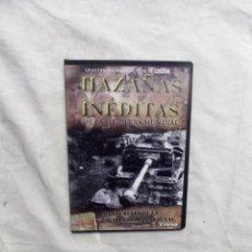 Cine: DVD - HAZAÑAS INEDITAS DE LA II GUERRA MUNDIAL - LOS SECRETOS DE LA BATALL CREST FILMS ( CAJA FINA ). Lote 192381570