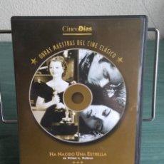 Cine: EL FORAJIDO Y HA NACIDO UNA ESTRELLA EN DVD // PROMOCIÓN EN LOS ENVÍOS. LEER DESCRIPCIÓN. Lote 192413917