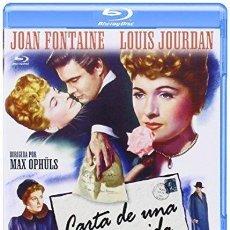 Cinema: CARTA DE UNA DESCONOCIDA (BLU-RAY). Lote 215867972