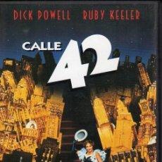 Cine: CALLE 42. DVD. LLOYD BACON 1933. Lote 192451760