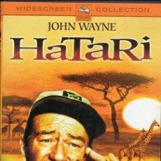 Cine: HATARI. DVD. HOWARD HAWKS. Lote 192453443