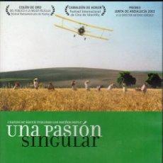 Cine: UNA PASION SINGULAR. DVD. ANTONIO GONZALO. Lote 192453656