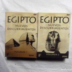 Cine: DVD - EGIPTO NUEVOS DESCUBRIMIENTOS VOLUMENES 1 Y 2 . Lote 192481527