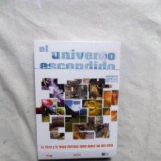 Cine: DVD - EL UNIVERSO ESCONDIDO LA FLORA Y LA FAUNA IBERICAS COMO NUNCA LAS HAS VISTO . Lote 192482017