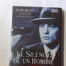 Cinéma: EL SILENCIO DE UN HOMBRE- JEAN-PIERRE MELVILLE- DVD NUEVO. Lote 192567940