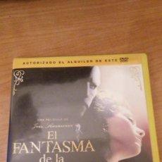 Cine: CINE DVD A 2 EUROS: EL FANTASMA DE LA OPERA *IMPECABLE*. Lote 183929643