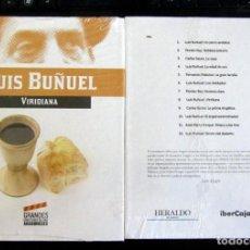 Cine: LIBRO + DVD COLECCIÓN GRANDES DIRECTORES CINE ARAGONESES - LUIS BUÑUEL - VIRIDIANA - HERALDO ARAGON. Lote 253295135