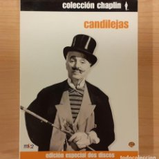 Cine: CANDILEJAS (LIMELIGHT) 2 DISCOS CHARLES CHAPLIN, CLAIRE BLOOM, BUSTER KEATON. Lote 192781076