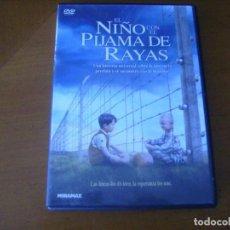 Cine: EL NIÑO DEL PIJAMA DE RAYAS / DVD MIRAR DESCRIPCION. Lote 192842036