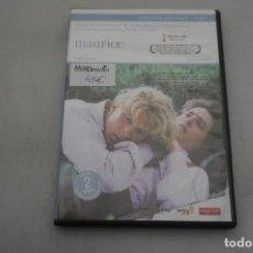 Cinema: (ASI-3) - 2 X DVD / MAURICE - HUGH GRANT, JAMES WILBY / JAMES IVORY. Lote 192858557