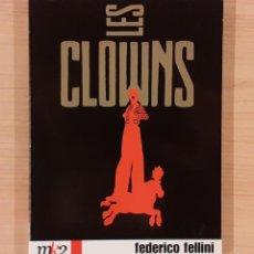 Cine: LOS CLOWNS (I CLOWNS) FEDERICO FELLINI. Lote 192861562