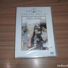 Cinéma: LORNA DOONE DVD BARBARA HALE RICHARD GREENE NUEVA PRECINTADA. Lote 207472911