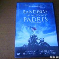 Cine: BANDERA DE NUESTROS PADRES / DVD . Lote 192932717