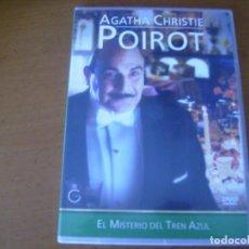 Cine: POIROT EL MISTERIO DEL TREN AZUL / / DVD CAJA FINA. Lote 193027513
