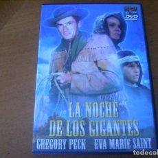 Cine: LA NOCHE DE LOS GIGANTES / GREGORY PECK DVD . Lote 193036581